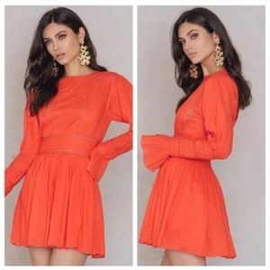NWT Free People Victorian Clementine Mini Dress